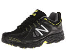 New Balance MT510v2 Black, Yellow Shoes