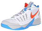 Nike - Zoom I Get Buckets (White/Photo Blue/Wolf Grey/Team Orange)