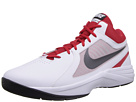 Nike - The Overplay VIII (White/University Red/Black/Metallic Dark Grey)