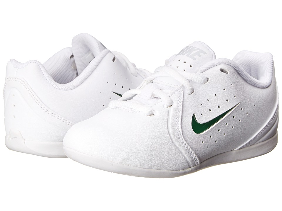 Nike Kids - YA Sideline III (Toddler/Little Kid) (White/Pure Platinum/White) Girls Shoes