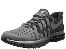 Nike - Fingertrap Max (Metallic Dark Grey/Black/Metallic Dark Grey)