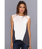 BCBGMAXAZRIA - Gabbie Colorblock Top With Raglan Sleeve