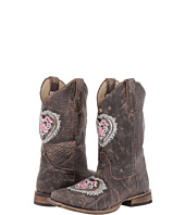 Roper Kids - Square Toe w/ Heart Glitter (Toddler/Little Kid)