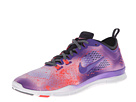 Nike - Free 5.0 TR Fit 4 Print (White/Laser Crimson/Anthracite/Purple Venom)