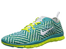 Nike - Free 5.0 TR Fit 4 Print (Turbo Green/Venom Green/Pure Platinum/White)