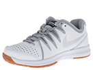 Nike - Air Vapor Indoor Court (White/Wolf Grey/Gum Medium Brown/Metallic Silver)