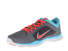 Nike - Flex Trainer 4 (Cool Grey/Polarized Blue/Laser Crimson)