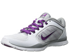 Nike - Flex Trainer 4 (White/Silver/Bright Grape)