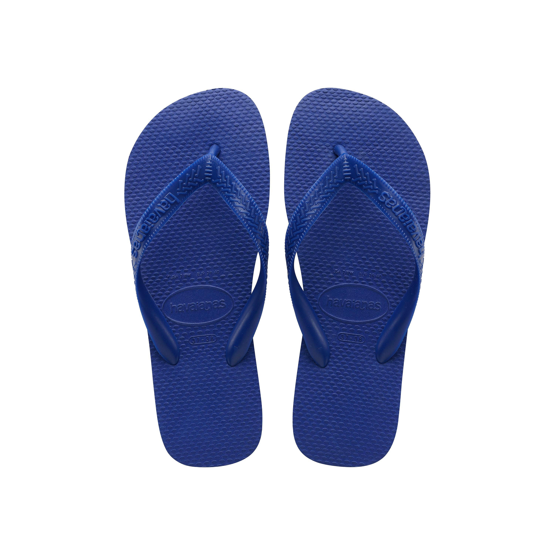 Havaianas Top Flip Flops Marine Blue Mens Sandals