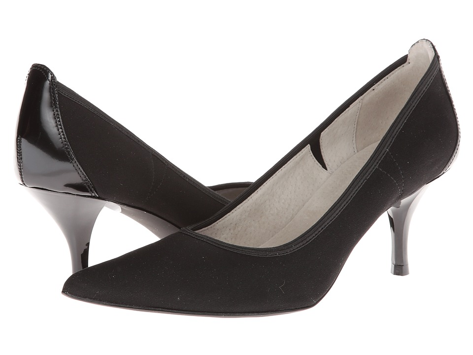 Tahari - Dottie (Black Stretch) High Heels