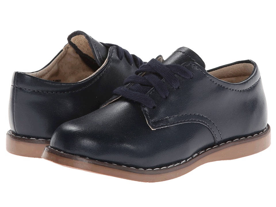 FootMates - Willy 3 (Toddler/Little Kid) (Navy) Boys Shoes