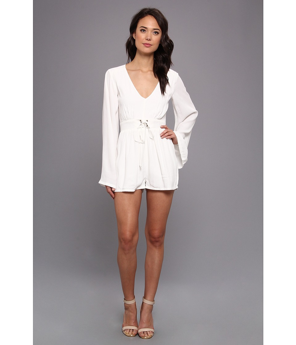 MINKPINK Follow Me To Heaven (White) Women's Jumpsuit & Rompers One Piece