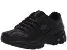 SKECHERS - Afterburn M. Fit Reprint (Black) - Footwear
