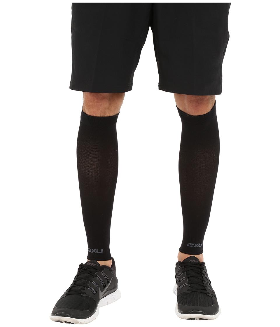 2XU - Performance Run Sleeve (Black/Black) Athletic Sports Equipment