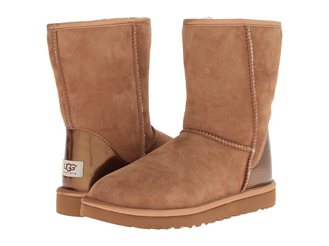 Sale alerts for UGG Classic Short Metallic Patent - Covvet