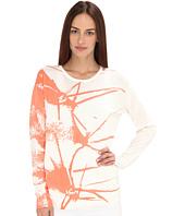 tibi - Printed Cactus Sweater Pullover