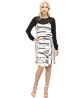 tibi - Gran Desierto w/ Mesh Draped Dress w/ CDC Combo
