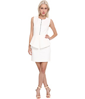Tibi - City Stretch Sleeveless Dress w/ Zipper