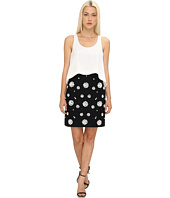 tibi - Shell Beading Double Layer Dress w/ CDC