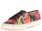 Superga – 2750 FANTASY COTU (Hawaiian Floral Black)