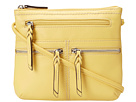 Tignanello - Triple Zip Crossbody (Sunrise) - Bags and Luggage