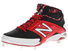 New Balance 4040v2 Mid Black, Red Shoes
