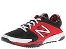 New Balance 4040v2 Turf Black, Red Shoes