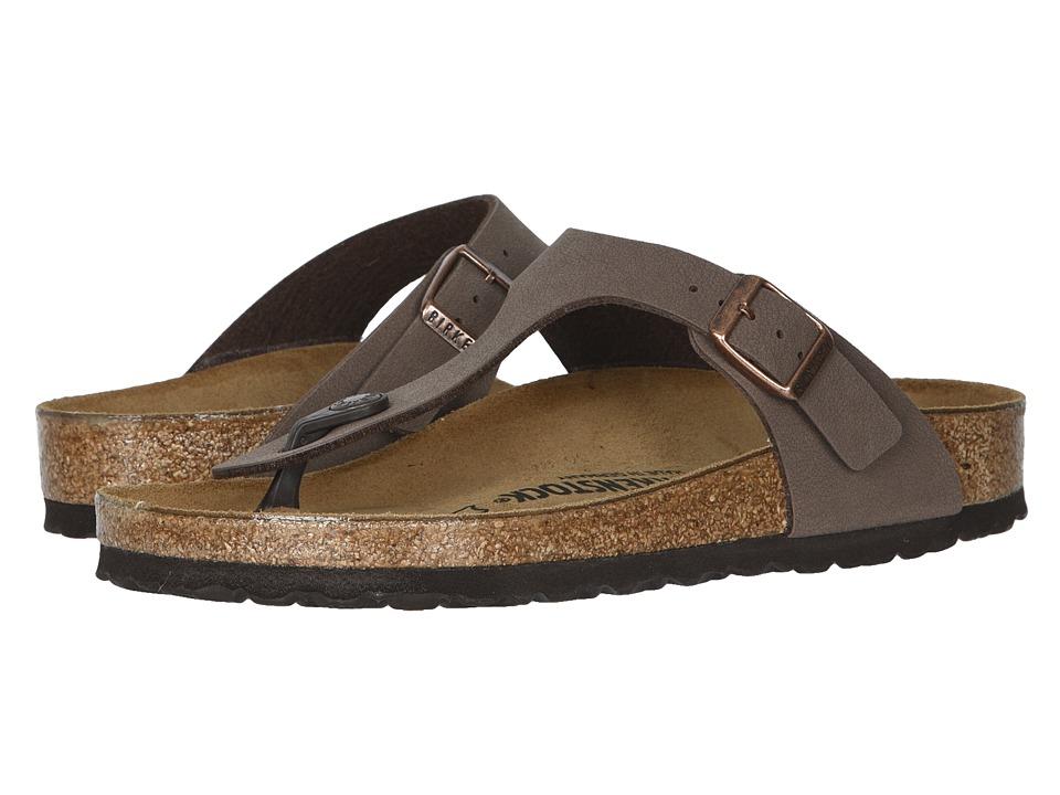 Birkenstock - Gizeh Birkibuctm (Mocha Birkibuctm) Womens Shoes