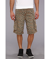 True Religion - Commander Big T Khaki Camo Cargo Short