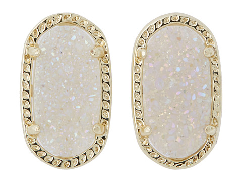 Kendra Scott Ellie Earring - Gold Iridescent Drusy