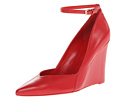 Nine West - Eviee (Red Leather) - Footwear