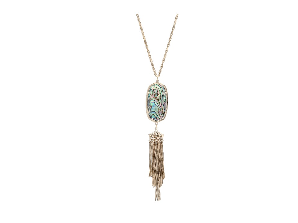 Kendra Scott - Rayne Necklace (Gold Abalone Shell) Necklace