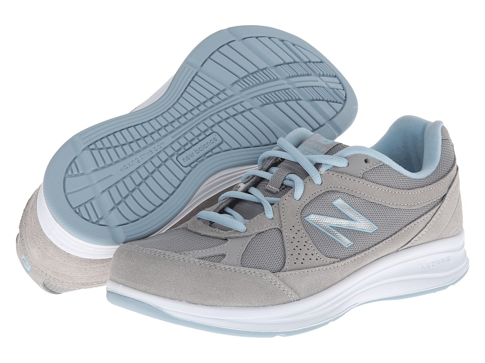 New Balance - WW877 (Silver) Womens Shoes