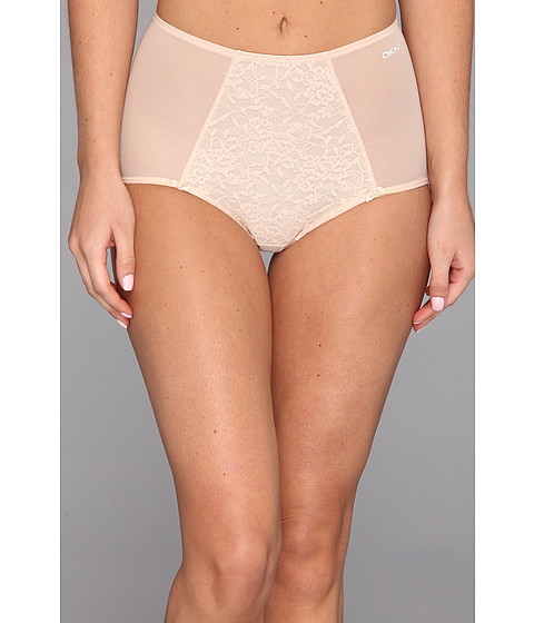 DKNY Intimates Underslimmers Signature Lace Brief Panty