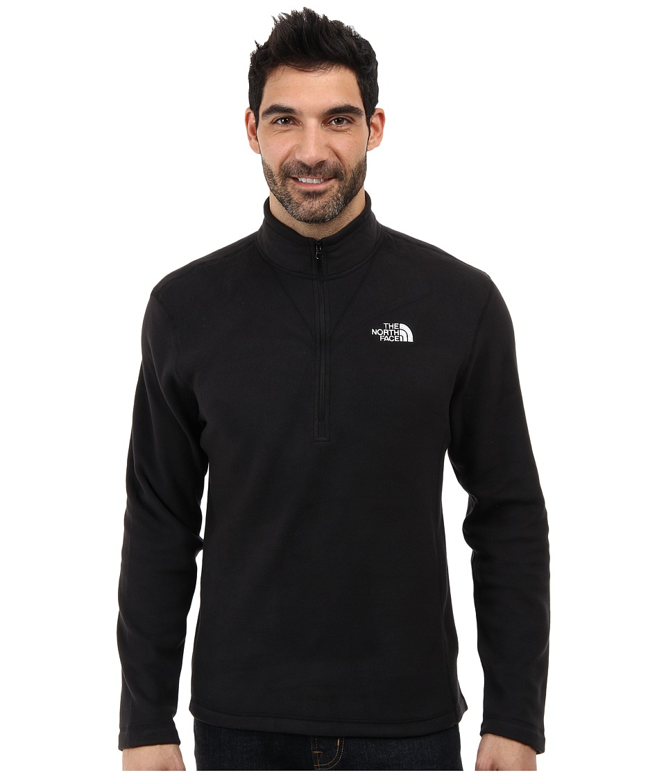 The North Face - TKA 100 Glacier 1/4 Zip (TNF Black) Mens Sweatshirt