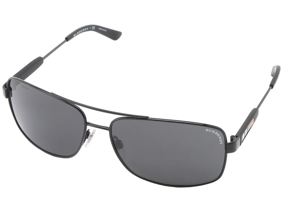Burberry BE3074 Black/Grey Fashion Sunglasses
