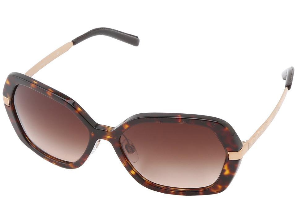 Burberry BE4153Q Dark Havana/Brown Gradient Fashion Sunglasses