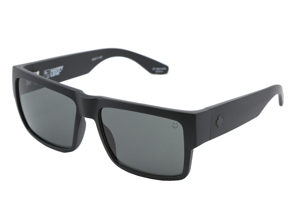 Spy Optic - Cyrus (Matte Black - Happy Grey Green) Sport Sunglasses