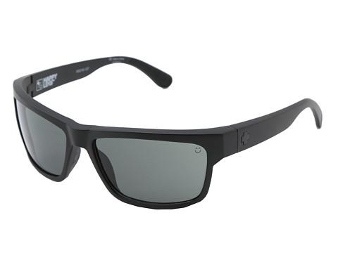 Spy Optic Frazier (Happy Lens) - Matte Black - Happy Grey Green