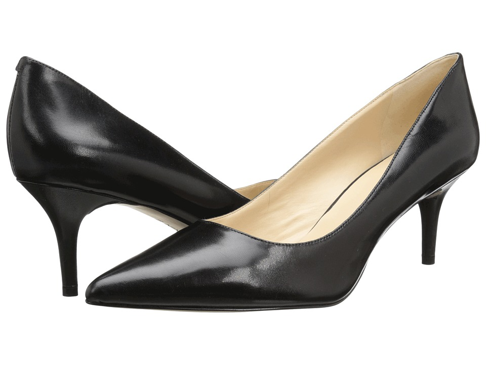 Nine West - Margot Pump (Black2 Leather) High Heels