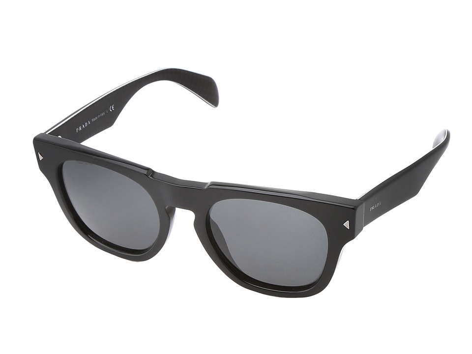 Prada PR 05QS Black/Grey Fashion Sunglasses