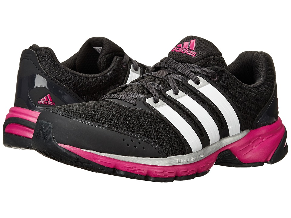 adidas Running Madison RNR W Carbon/Running White/Metallic Silver Womens Running Shoes