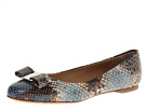 Salvatore Ferragamo - Varina PS (Oxford Blue) - Footwear