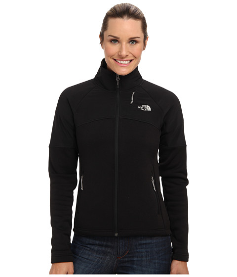 The North Face - Momentum 300 Pro Jacket (TNF Black/TNF Black) - Apparel