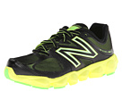New Balance Kids K4090 Big Kid Black, Green Shoes