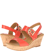 Cole Haan Air Natalie Low Sandal Red Nappa Shipped Free