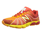 New Balance Kids KJ890 Big Kid Red, Yellow Shoes
