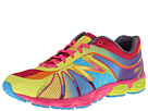 New Balance Kids KJ890 Big Kid Polka Dot Rainbow Shoes