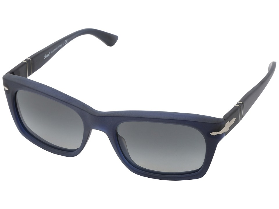 Persol - PO3065S (Matte Blue/Gradient Grey) Fashion Sunglasses