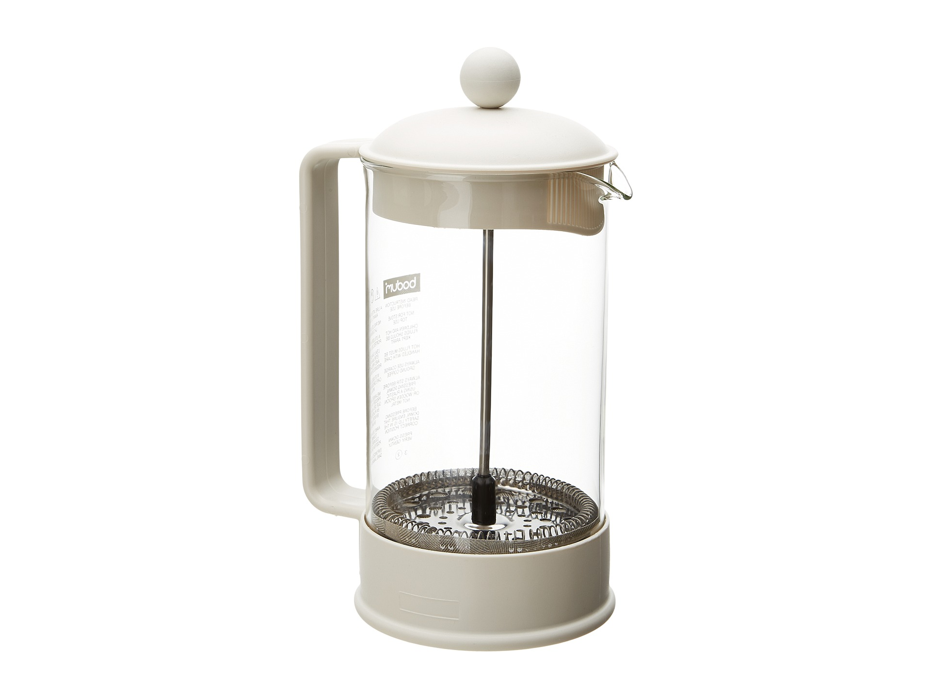 Bodum French Press Coffee Maker Instructions : French Press Coffee Instructions Share The Knownledge
